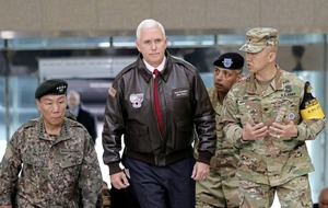 US vice-president Mike Pence warns North Korea the 'era of strategic patience is over' in wake of failed missile test