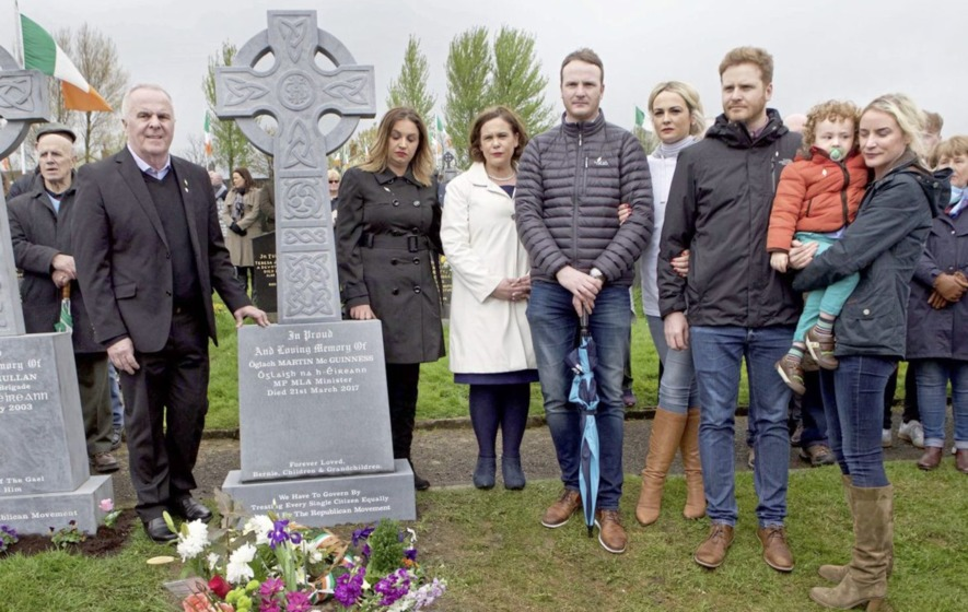 "Martin McGuinness IRA volunteer headstone a ""reality check"" for those ""caught up in hyperbole"""