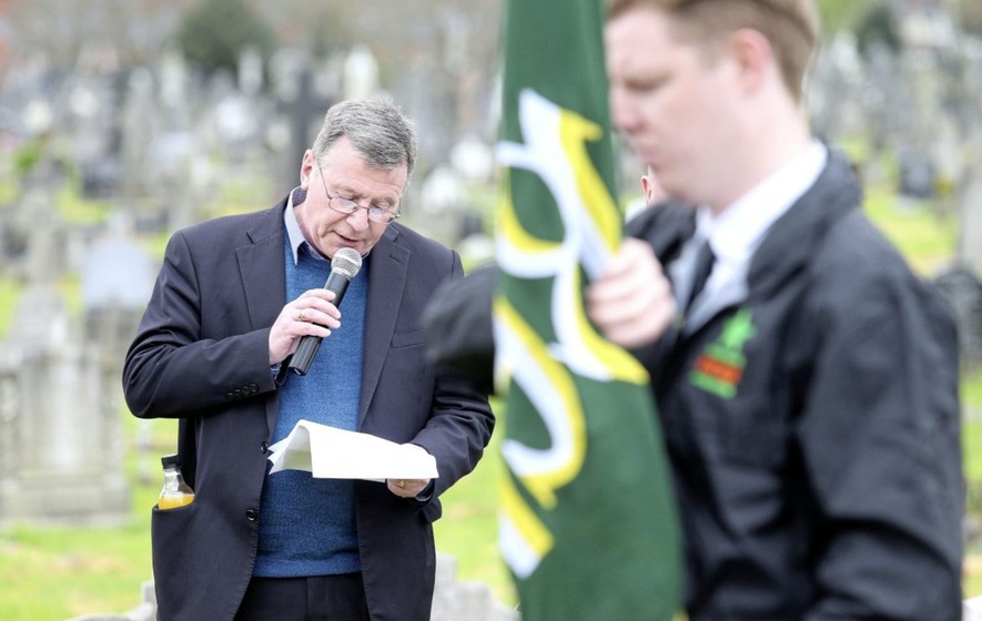 Breandán Mac Cionnaith: Irish unity not a case of 'changing one flag for another'