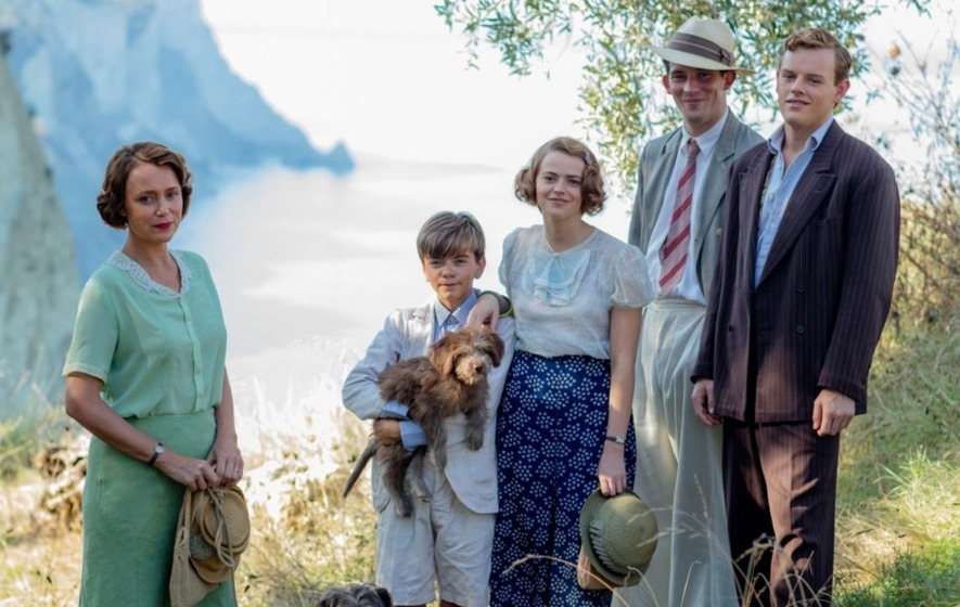 Durrells' Keeley Hawes says real-life and on-screen children eyed each other up
