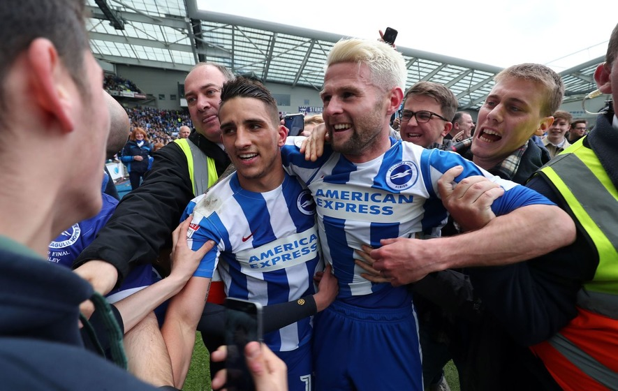 Anthony Knockaert relishing Premier League soccer after Brighton promotion
