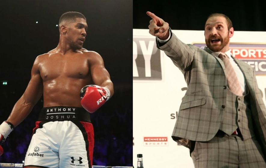 Anthony Joshua calls for Tyson Fury boxing return to settle feud
