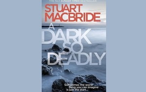 Dark delights: Crime novelist Stuart MacBride on his latest book