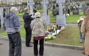 Martin McGuinness' grave already a place of republican pilgrimage