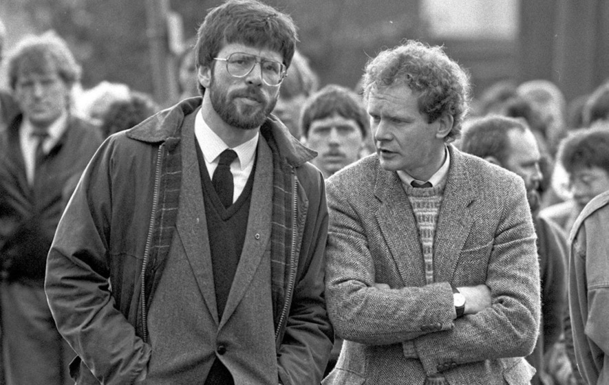 ... the IRA leaders to serve long prison sentences who had grown so powerful, so influential and – in some cases – so wealthy and who had wives and families ...