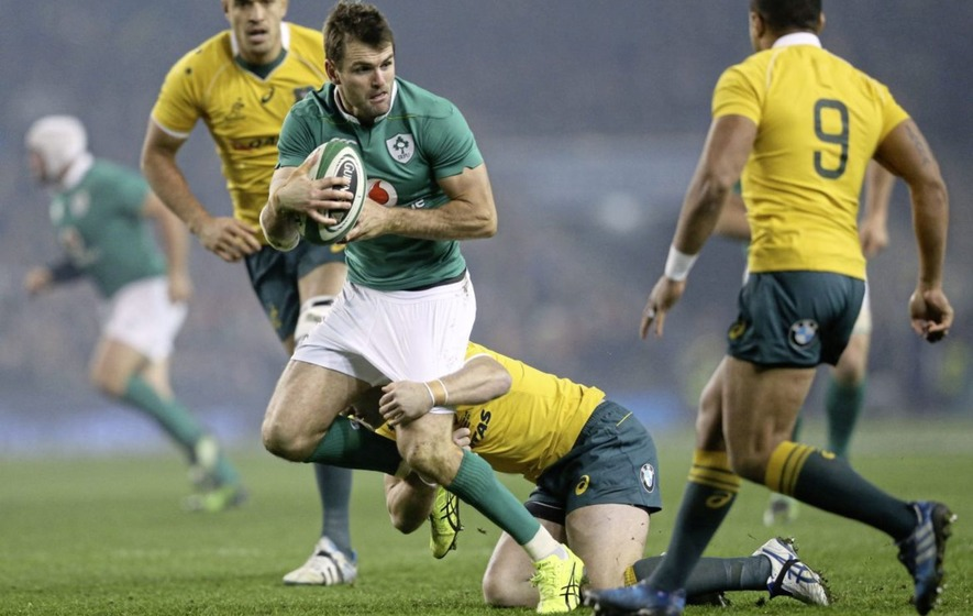 The Ireland players on the Lions tour profiled