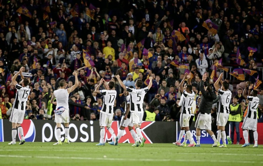 Juventus and Monaco join Madrid giants in Champions League semi-finals