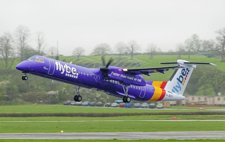 Flybe spreads wings with 13 routes and over 500 flights from Belfast City Airport