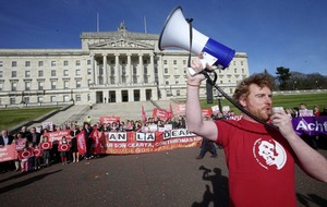 Major rally in support of Irish language act to converge on Belfast City Hall