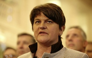 £1000 fine for DUP after 'administrative oversight' over Arlene Foster's appointment as leader