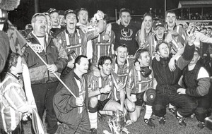 In The Irish News on Apr 21 1997: Derry City crowned National League of Ireland champions