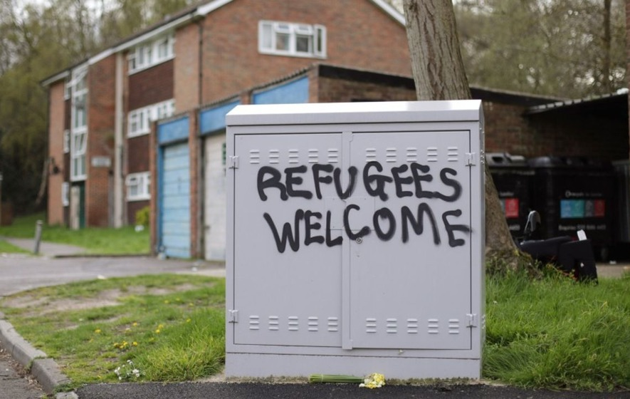 Football clubs across England are celebrating refugees this weekend