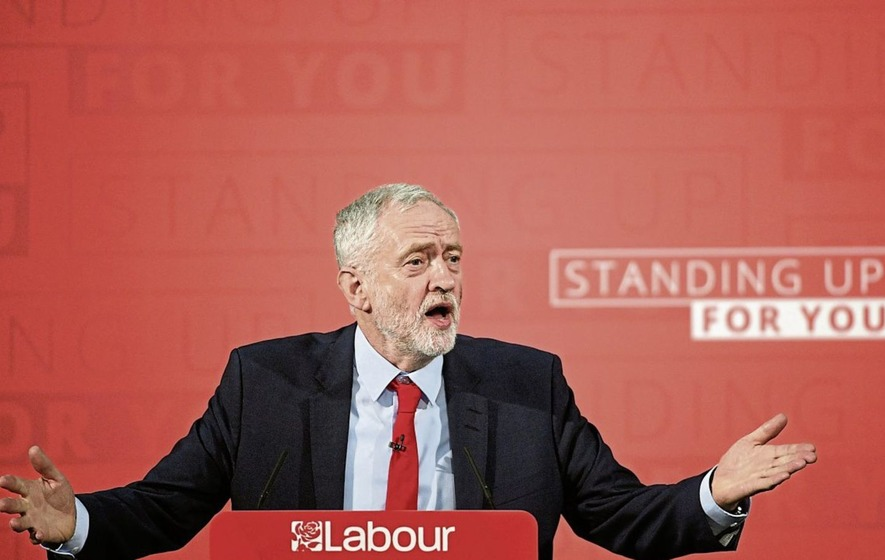 Jeremy Corbyn promises to put wealth 'in the hands of the people of Britain'