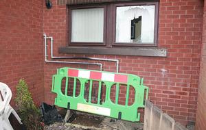 Boy escapes injury in Ballymena petrol bomb attack