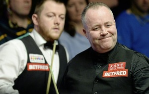 Mark Allen shines but only takes narrow advantage over John Higgins at World Championship