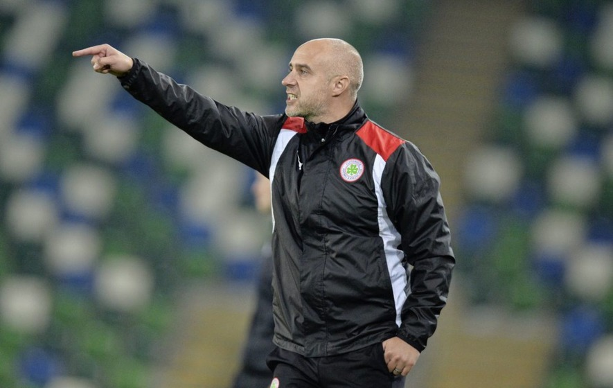 Gerard Lyttle quits as Cliftonville manager to take Sligo Rovers job