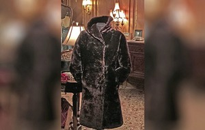 Fur coat worn by a stewardess on the Titanic sold for £150,000 at auction