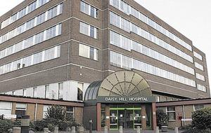 Daisy Hill A&E closure raised with civil service chief