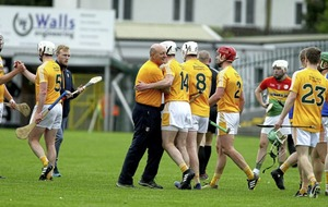 Antrim beat Carlow in extra-time to set up Christy Ring clash with Down
