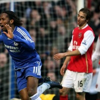 Former Chelsea striker Didier Drogba had Arsenal fans sweating with a joke about returning for the FA Cup final