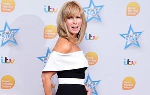 Kate Garraway hails NHS midwives as she recalls terror at giving birth