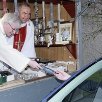 Drive-through Mission stall popular with Co Down parishioners