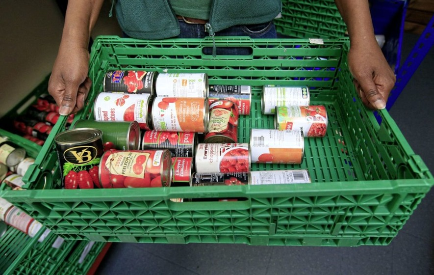Big rise in demand for foodbanks in Yorkshire