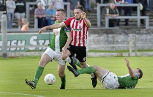 Derry City starting to find their feet again says striker Nathan Boyle