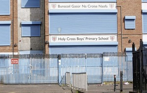 Bomb 'dumped' at Holy Cross school gates after dissidents suspected police surveillance