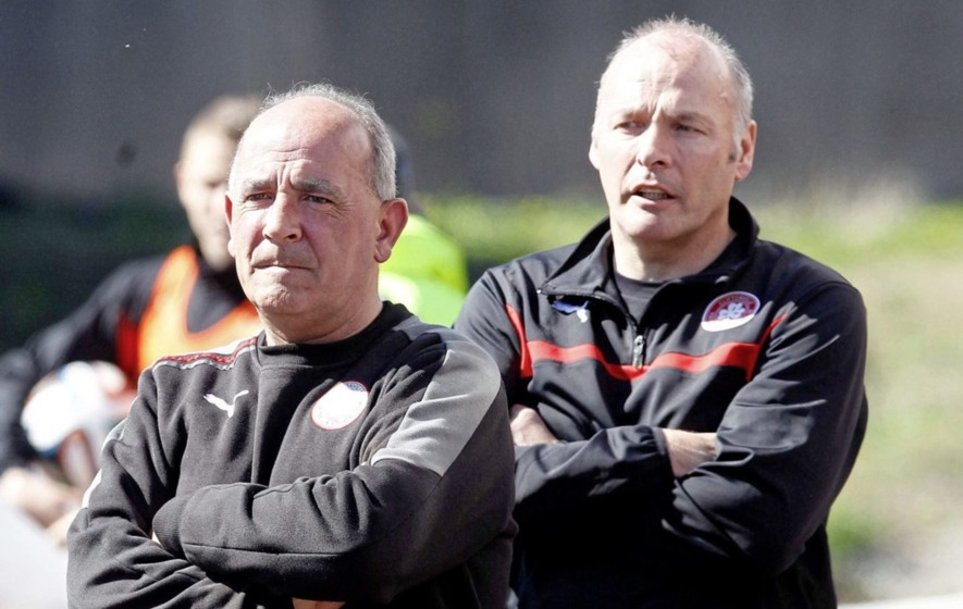 Tommy Breslin takes Cliftonville hotseat again until end of the season