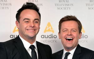 The joy of promotion to the Premier League as expressed by Geordie superfans Ant and Dec