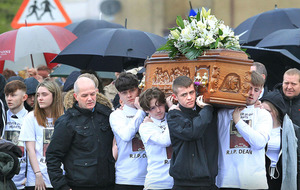 Funeral of Derry teenager Dean Millar takes place