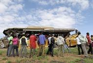 Kenyan bus crash leaves 27 people dead