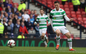 Scoring for Celtic in semi-final was pinnacle so far - Callum McGregor