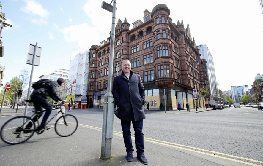 Iconic Belfast building to be turned into a hotel
