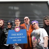 Blue plaque honour for London punk venue The Roxy