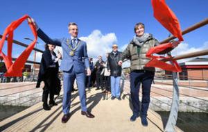 Final link of 'amazing' Connswater Community Greenway opens in Belfast