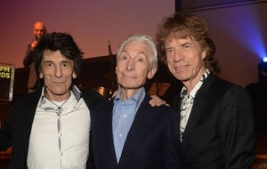 Rolling Stones win album of the year for Blue And Lonesome at Jazz FM Awards