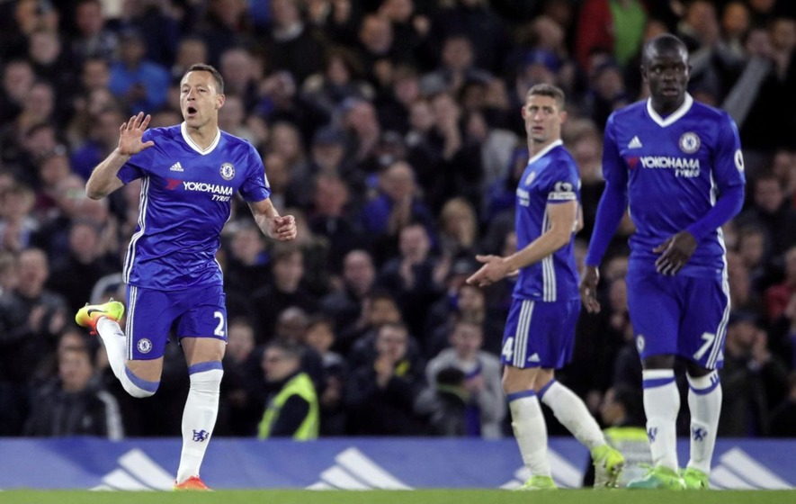 Costa inspires Chelsea to increase lead