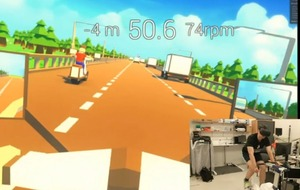 This virtual reality exercise game looks like the sort of fitness regime we could really get into