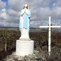 Virgin Mary statue appears at site where goldmine firm refused a Catholic service