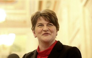 Arlene Foster: no one wants a hard Brexit border