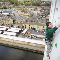 The UK's highest climbing wall is almost completed and will make you go weak at knees