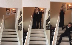 Video: Watch this prom entrance go drastically wrong
