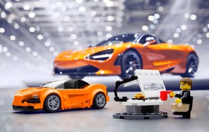Pocket money McLaren supercar launched - thanks to Lego