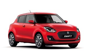 All-new Suzuki Swift flying in for the summer