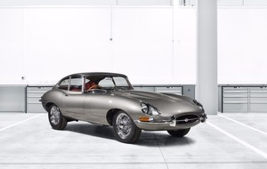Iconic Jaguar E-type lives again