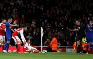 Alexis Sanchez showed off his busted lip but fans had zero sympathy