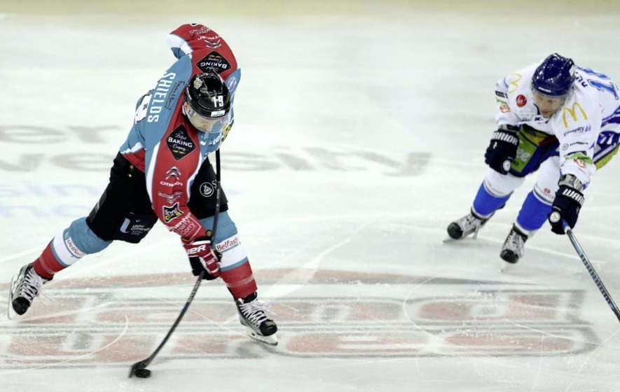 Colin Shields set to be GB ice hockey's all-time leading scorer