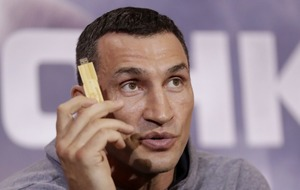 Wladimir Klitschko has recorded his prediction for the Anthony Joshua fight on a USB stick